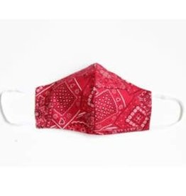 Face Mask with Filter!  - Bandana - RED