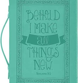 BC DIVINE DETAILS XL TEAL BEHOLD I MAKE ALL THINGS NEW