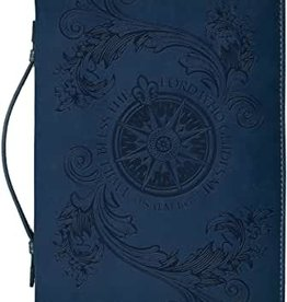 BC DIVINE DETAILS XL NAVY BLUE FLYING COMPASS ROSE