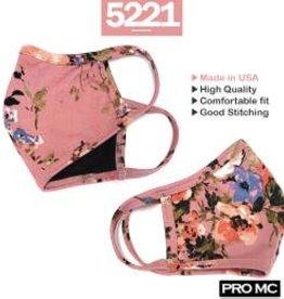 Face Mask- Pink Floral