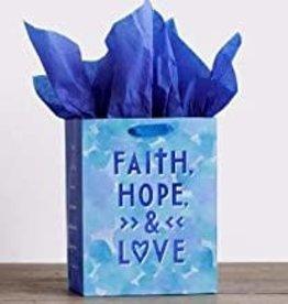 Gift Bag Faith,Hope,Love  91600