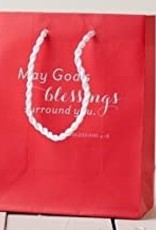 Value Sm Bag Red - May God's Blessings 46883