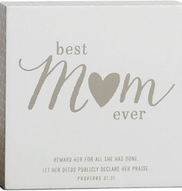 Best Mom Plaque