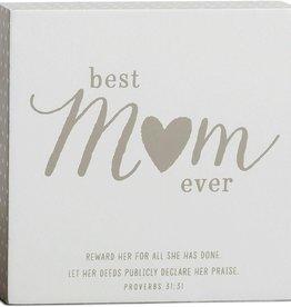 Best Mom Plaque