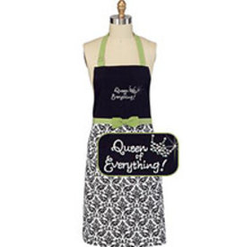 APRON -QUEEN OF EVERYTHING