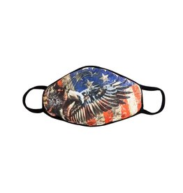 Face Mask: American Flag Eagle