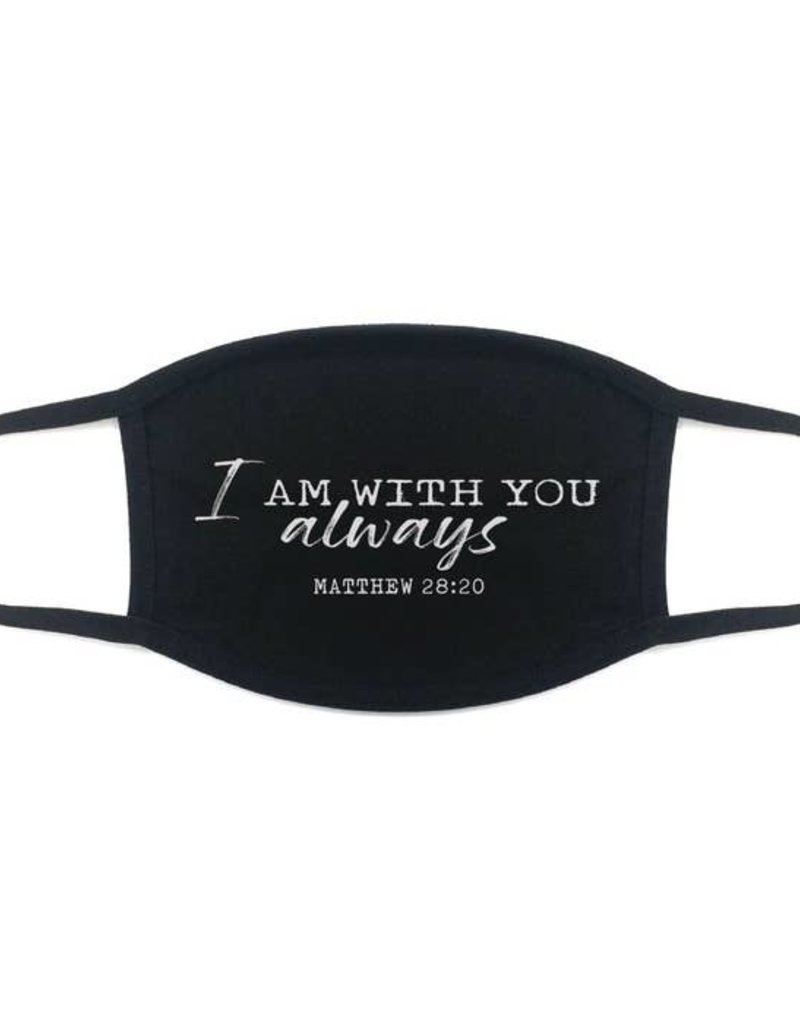 Face Mask: Matthew 28:20