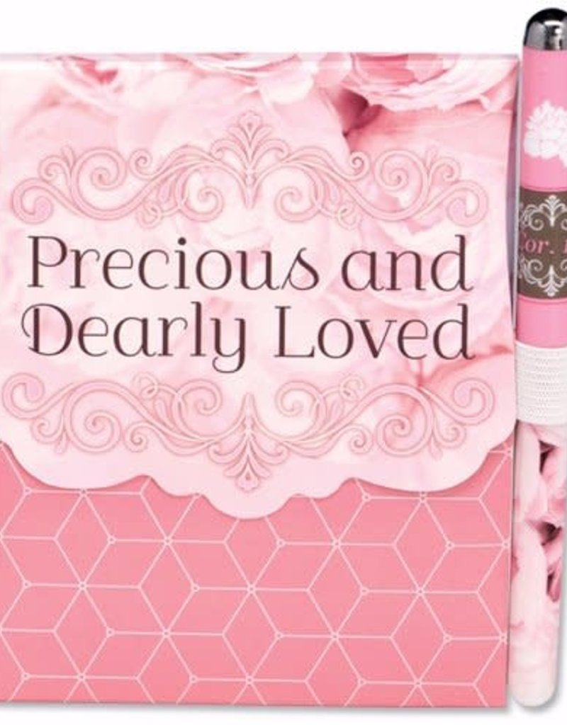 Notepad & Pen Set-Precious And Dearly Loved
