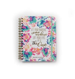 Prayer Journal - Floral - Let Your Burdens