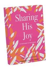 Postcard Book - Sharing His Joy Set of 20