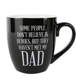 Believe in Heroes Dad Ceramic Mug