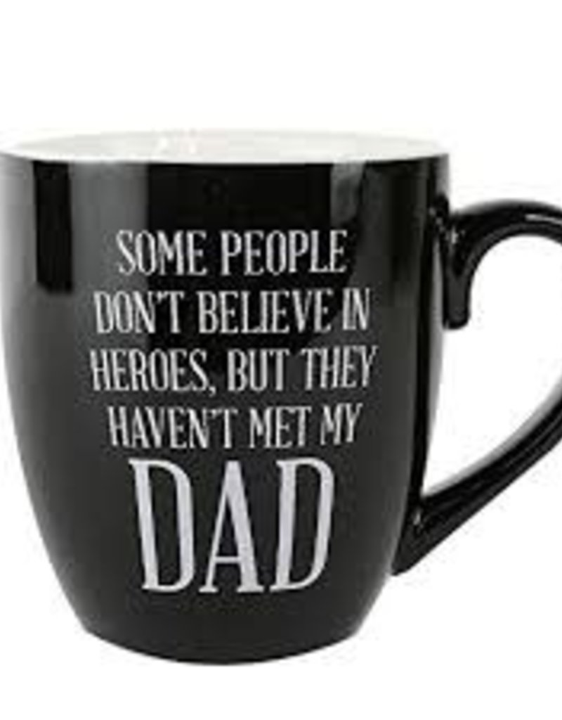 Believe in Heroes Dad Ceramic Mug