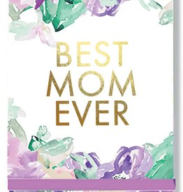 Floral Best Mom Notepad