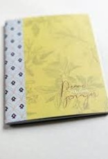 Peace Follows Prayer Stitched Journal