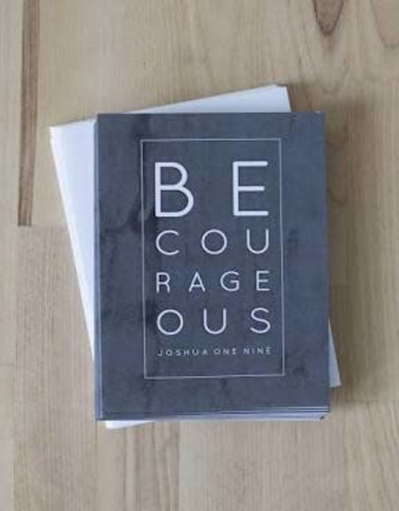 Be Courageous Notecard Set