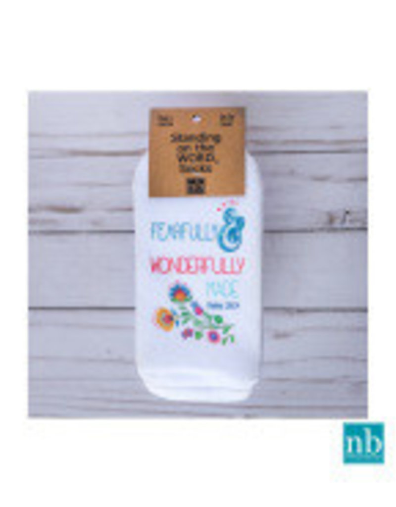 Standing On the WORD Socks -Fearfully & Wonderfully Made  (Psalm139:14))