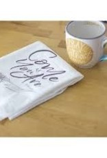 Come As You Are Tea Towel