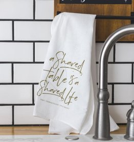Shared Table Tea Towel