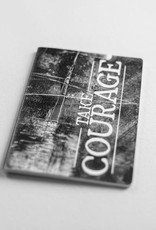 Take Courage Stitched Journal