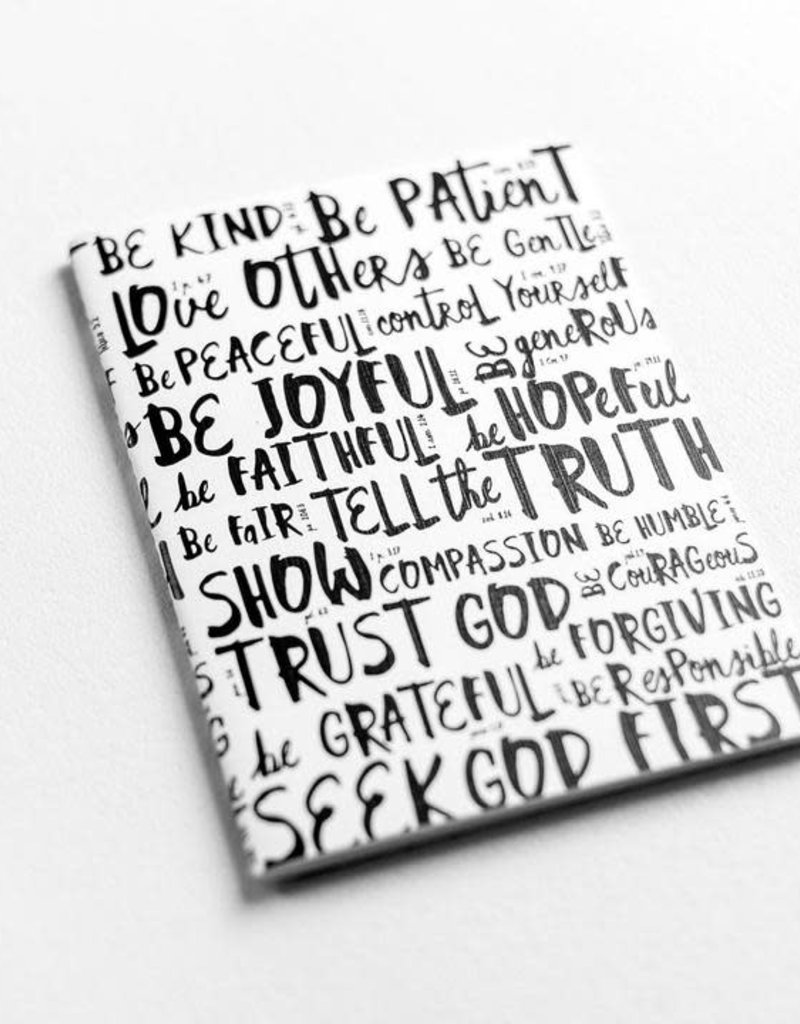 Virtues Stitched Journal
