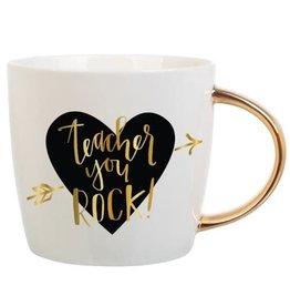 Teacher You Rock Mug