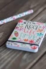 Keep Life Simple Pocket Notes