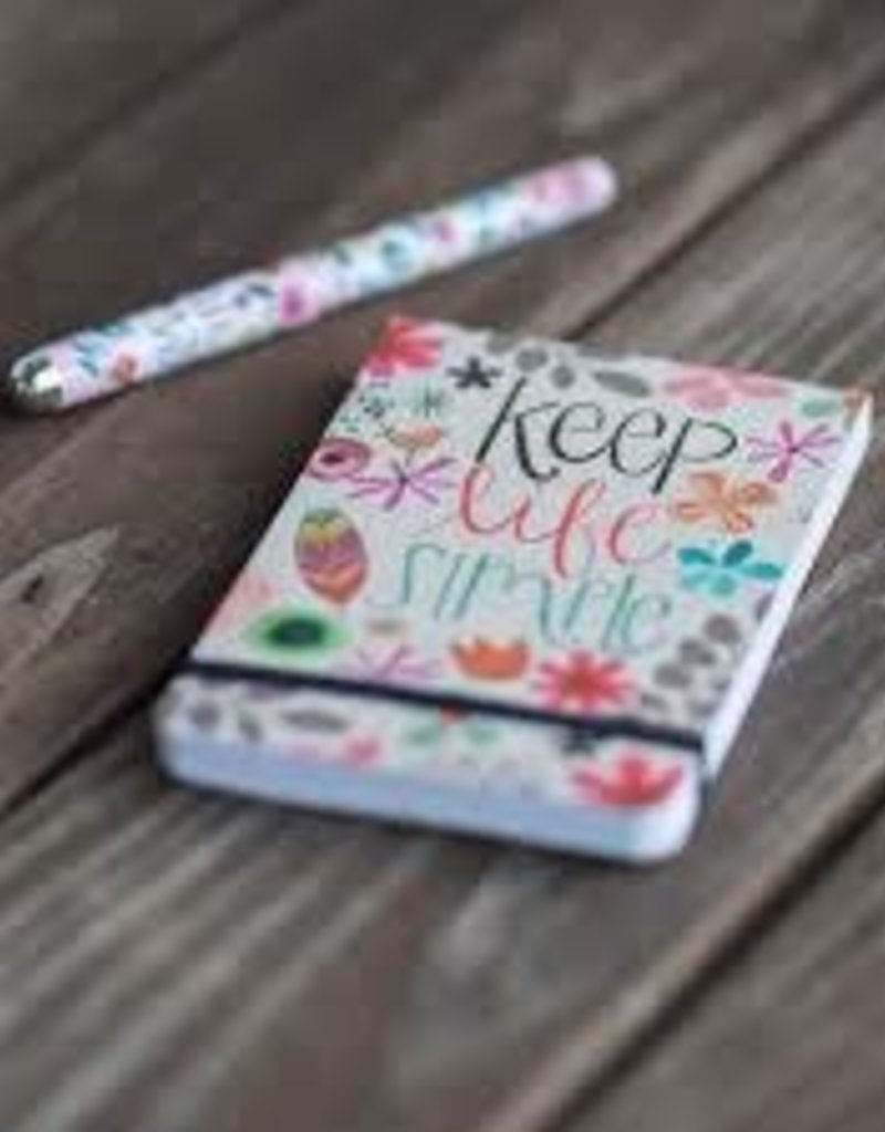 Keep Life Simple Pocket Notes