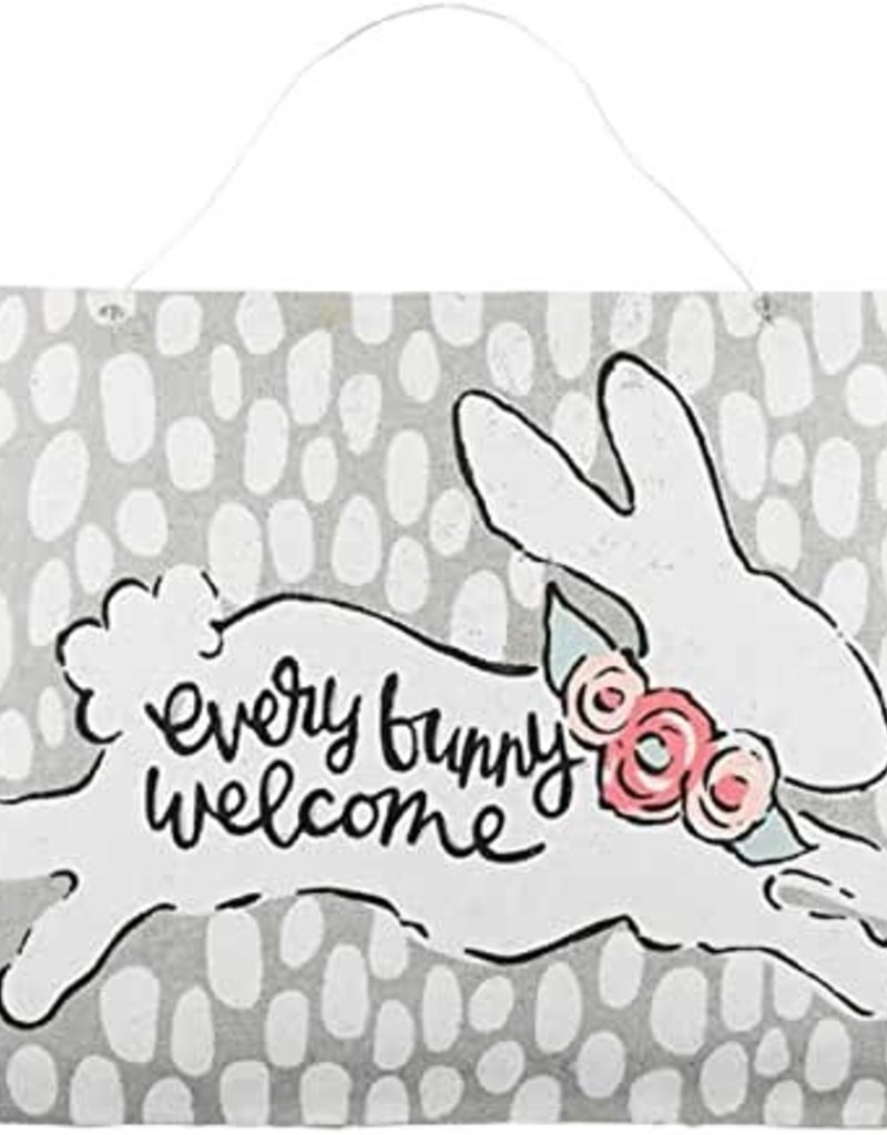 Every Bunny Burlap Door Hanging
