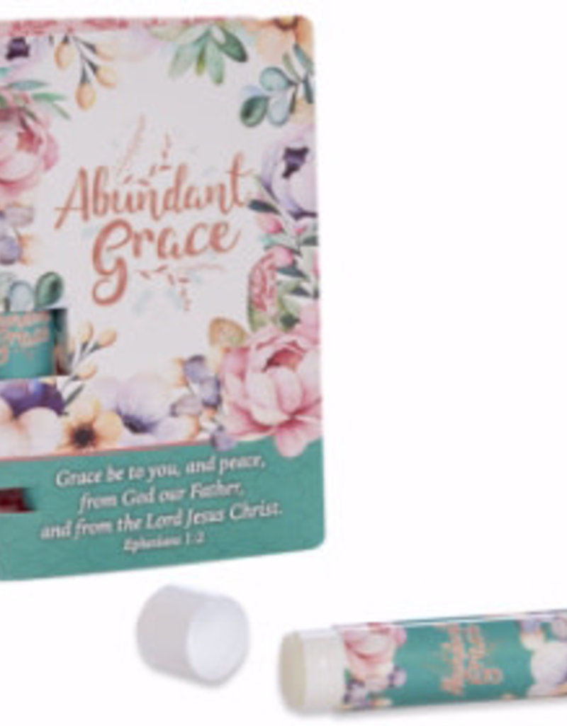 Abundant Grace Lip Balm in Holder