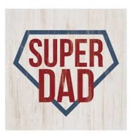 WOOD BLOCK SUPER DAD