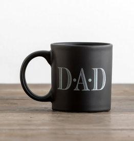 Dad Black Mug