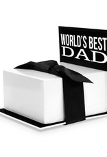 STICKY NOTE STAND WORLD'S BEST DAD