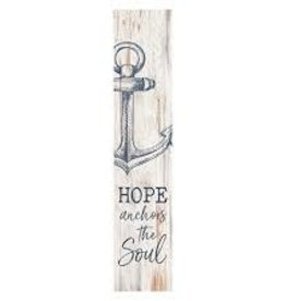 Wood Block-Stand Out-Hope Anchors The Soul