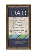 PLAQUE- DAD IS STRENGTH