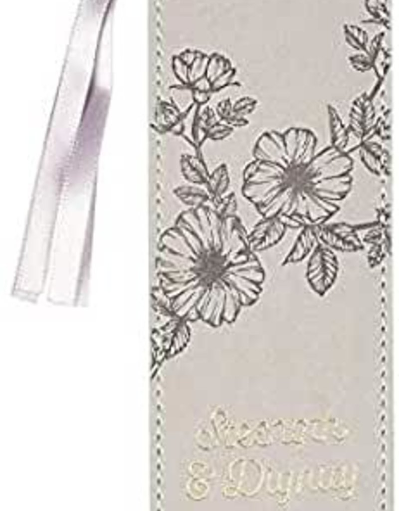 Strength & Dignity Grey Bookmark