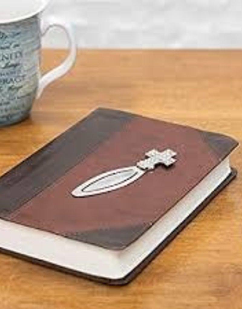 """4"""" rhinestone cross bookmark"""