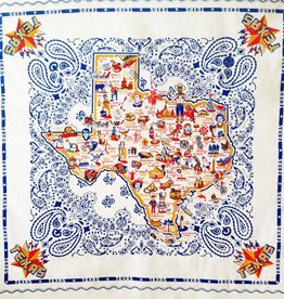 Texas Tablecloth Fabric 52x52