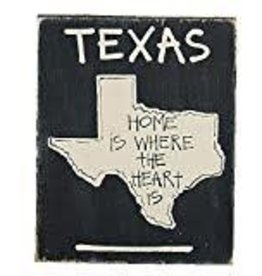 PLAQUE STATE OF TEXAS SIGN