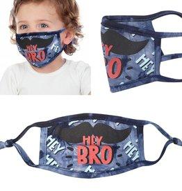 KIDS FACE MASK- Toddler Boy Hey Bro!