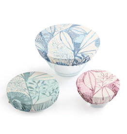 DISH COVERS- LEAF PATTERN