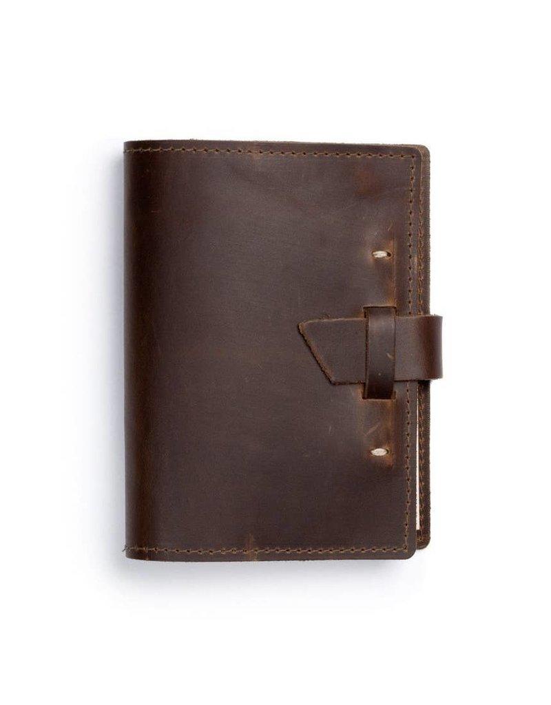 Wasatch Leather Notebook- Dark Brown