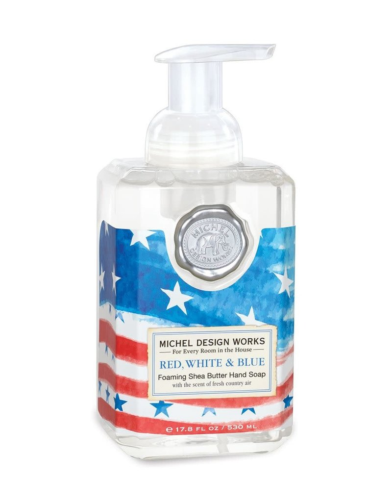 Red, White & Blue Foaming Hand Soap