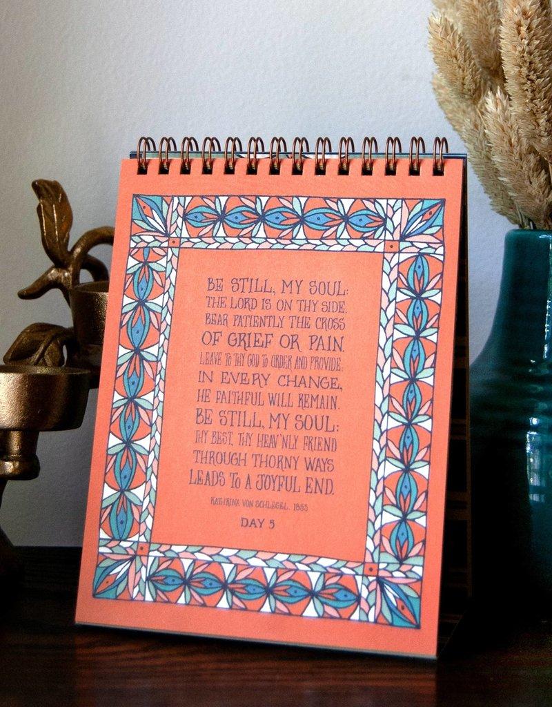 30 Days of Hymns Perpetual Calendar