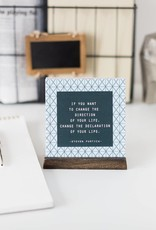 Men's Wisdom Works w/ Wooden Stand (30 Quotes)