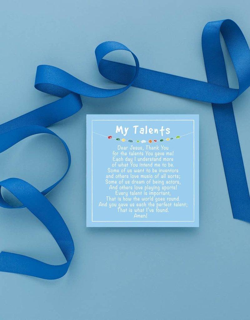 Prayer Time for Little Boys w/ Acrylic Stand (20 Prayers)