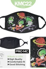 Kids Face Mask- Space Dinos