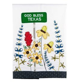 TEXAS WILD FLOWER TEA TOWEL