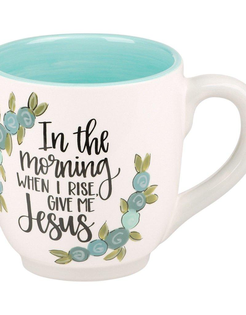 GIVE ME JESUS FLOWER MUG