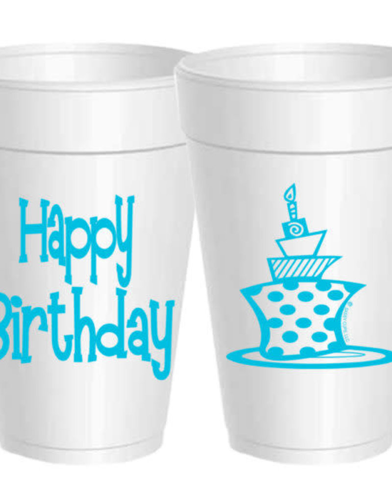 Birthday Funky Cake Cups- Sleeve of 10