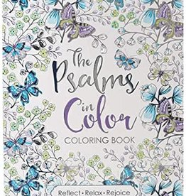 The Psalms in Color Coloring Boo